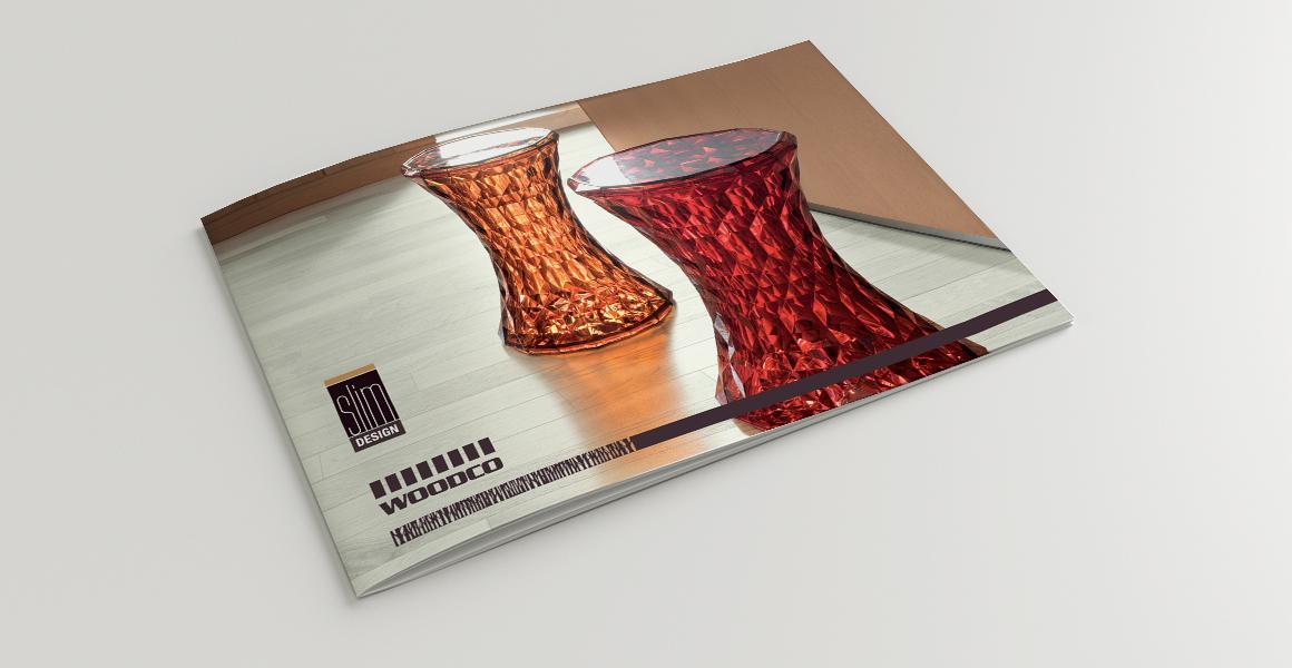 progettazione catalogo Woodco