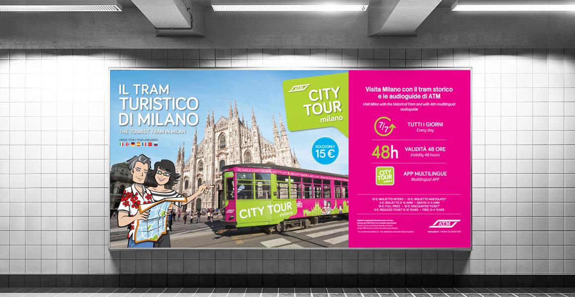 ATM City tour pubblicità