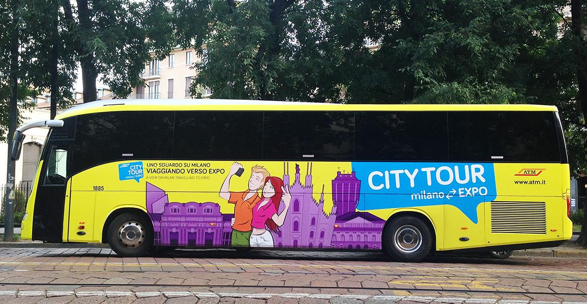 ATM City expo pubblicità