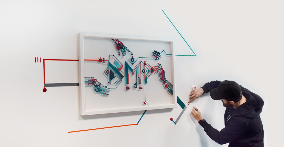 BMP creatività parete