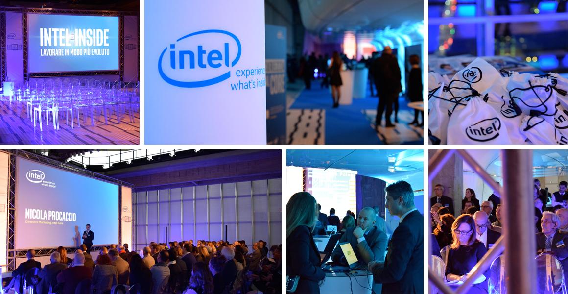 Evento Business Summit Intel Pirellone Milano