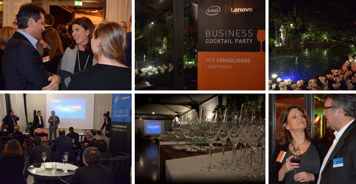 Evento aziendale Intel Lenovo Milano