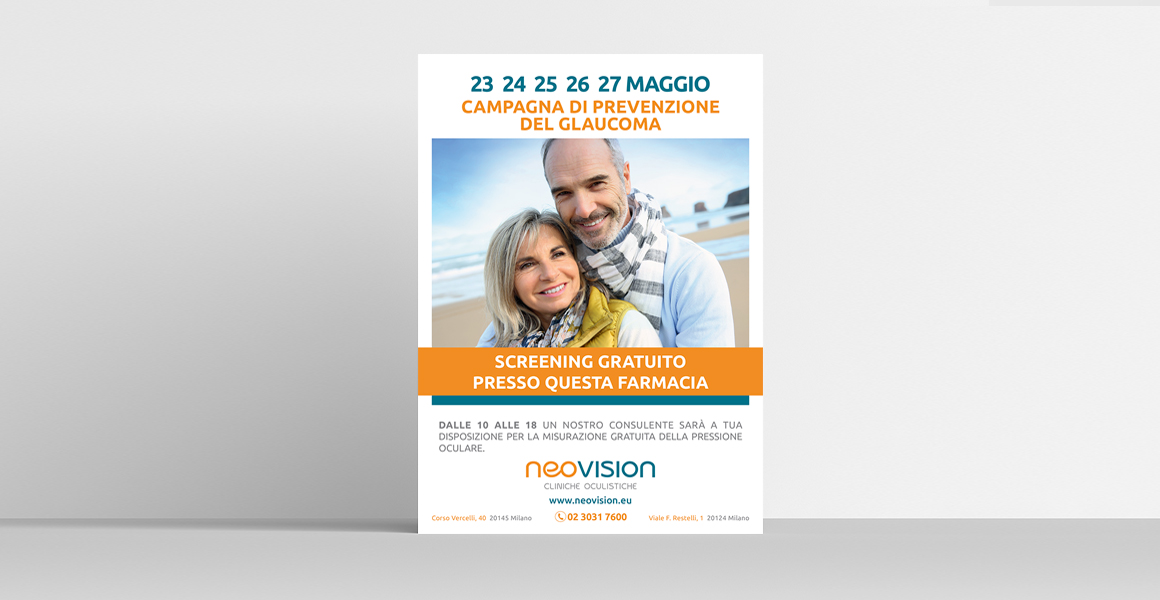 Studio campagna pubblicitaria Neo Vision
