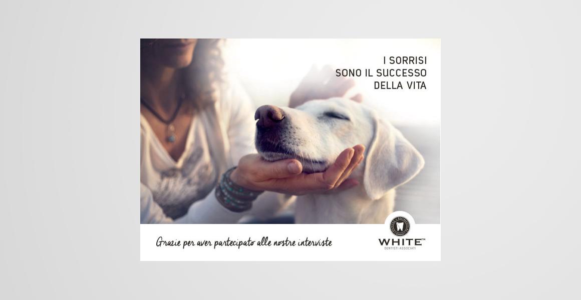 progettazione pubblicità White studi dentistici
