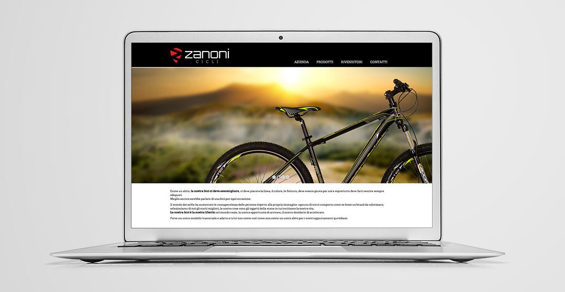 sviluppo sito web zanoni cicli